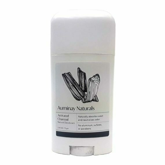 Activated Charcoal Natural Deodorant
