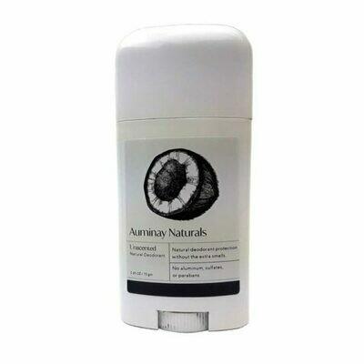 Unscented Natural Deodorant