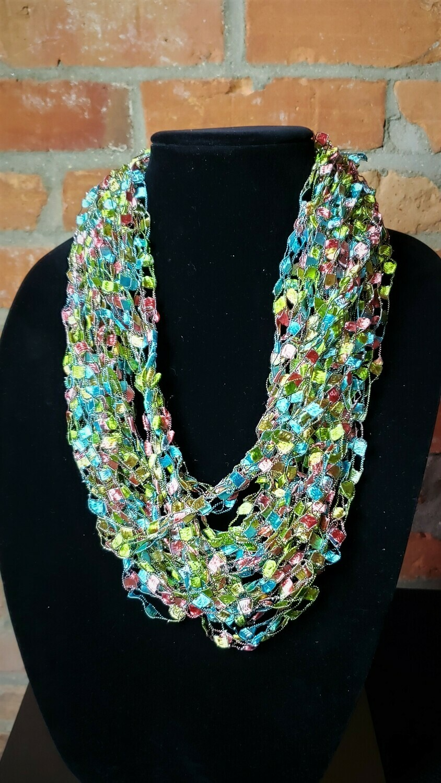 Candy Ladder Yarn Necklace