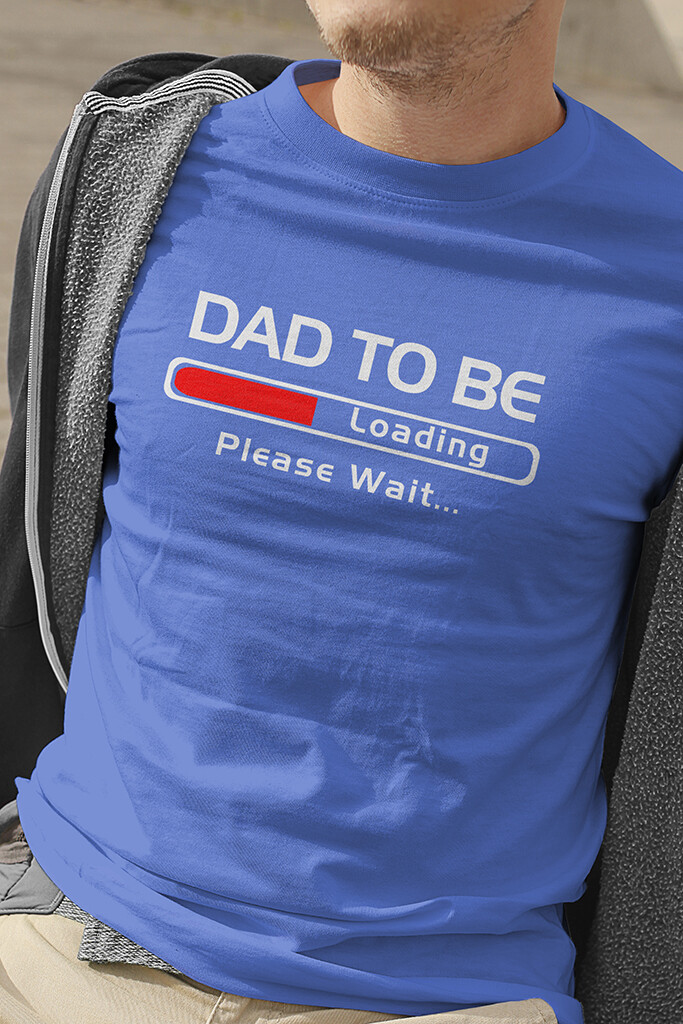 """T-Shirt """"Dad to Be"""""""