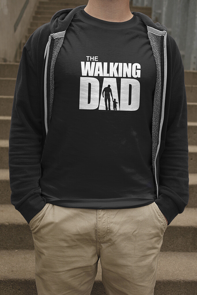 "T-Shirt ""The Walking Dad"""