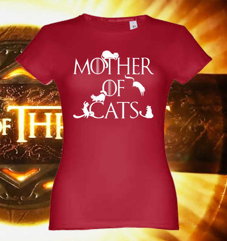 """T-Shirt """"Mother of Cats"""""""