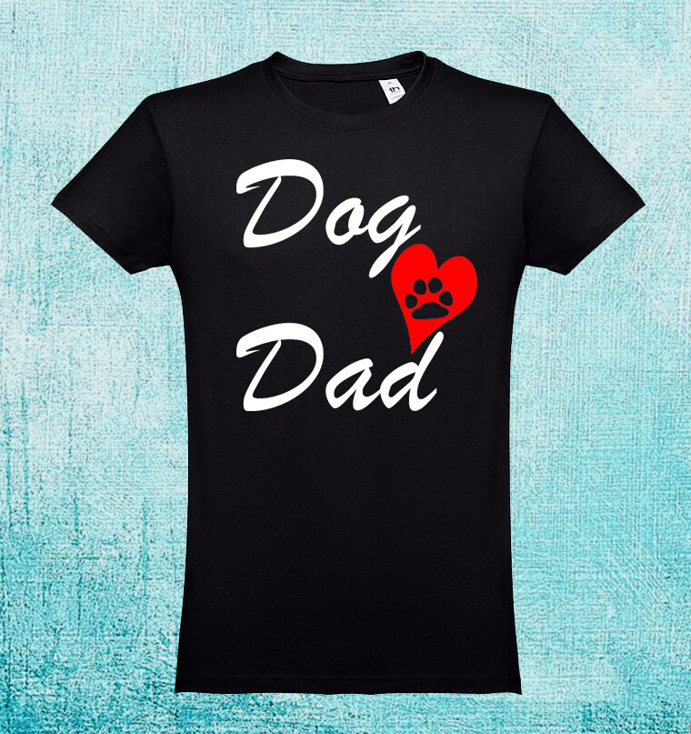 "T-Shirt ""Dog Dad"""