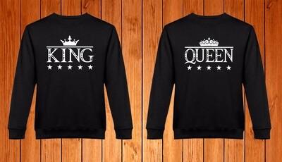 Conjunto 2 Sweatshirts King - Queen