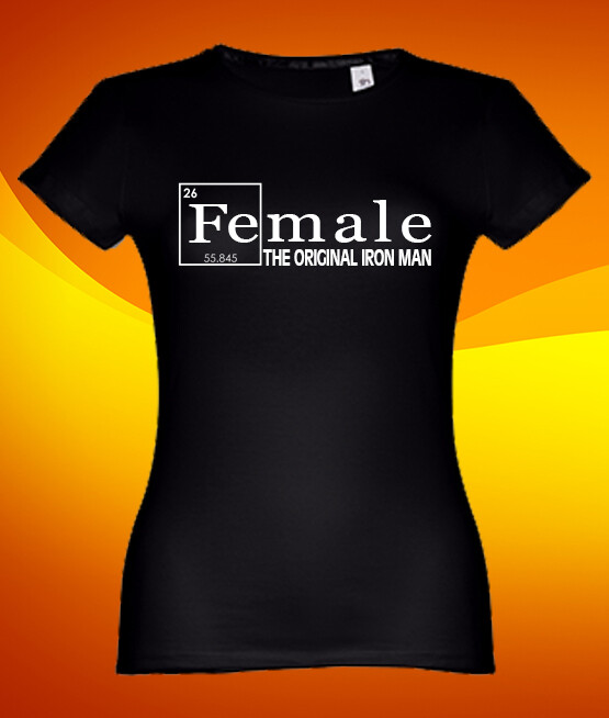 "T-Shirt ""Female - Original Iron Man"""