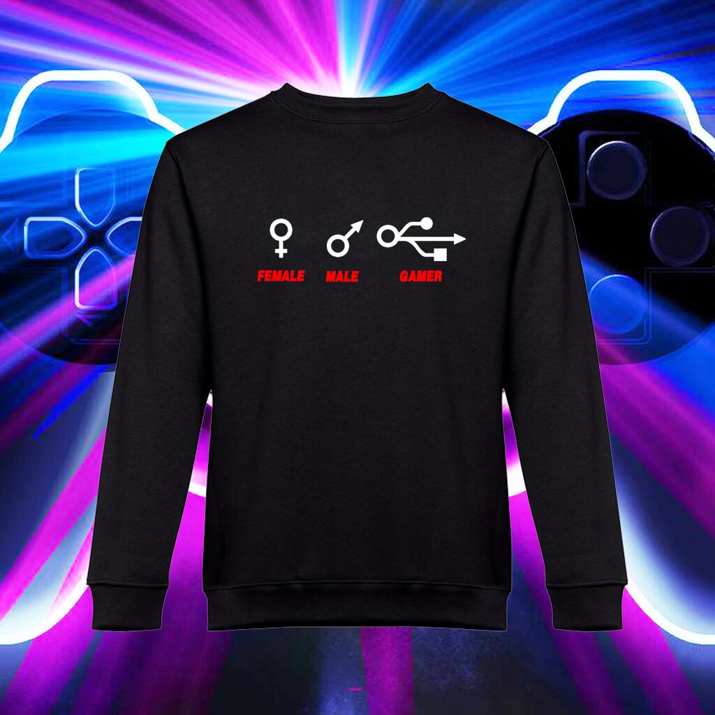 """Sweatshirt """"Genero GAMER"""""""
