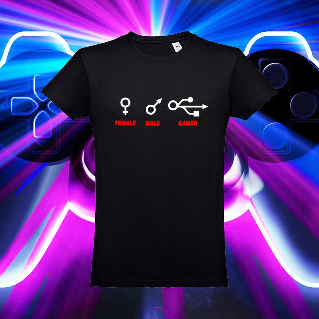 """T-Shirt """" Genero Gamer"""""""
