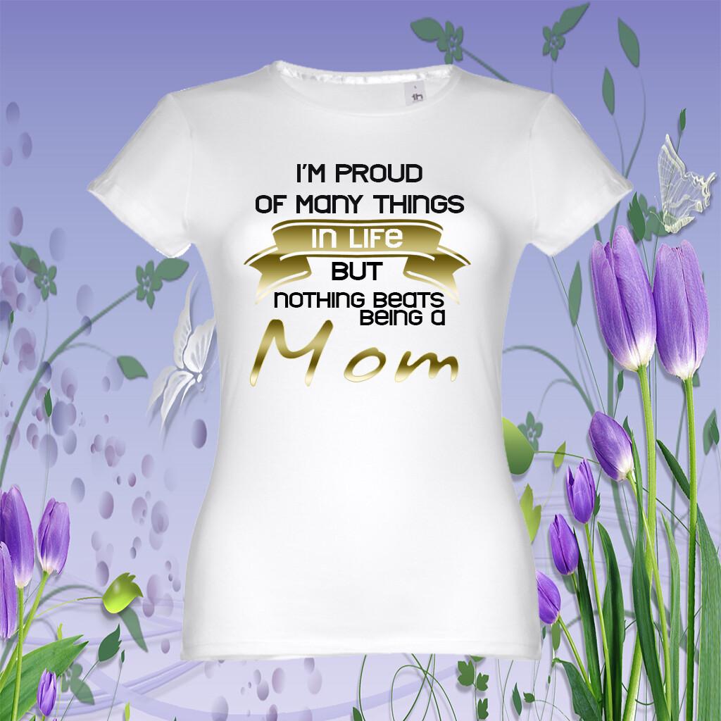 "T-Shirt ""Proud Mom"""
