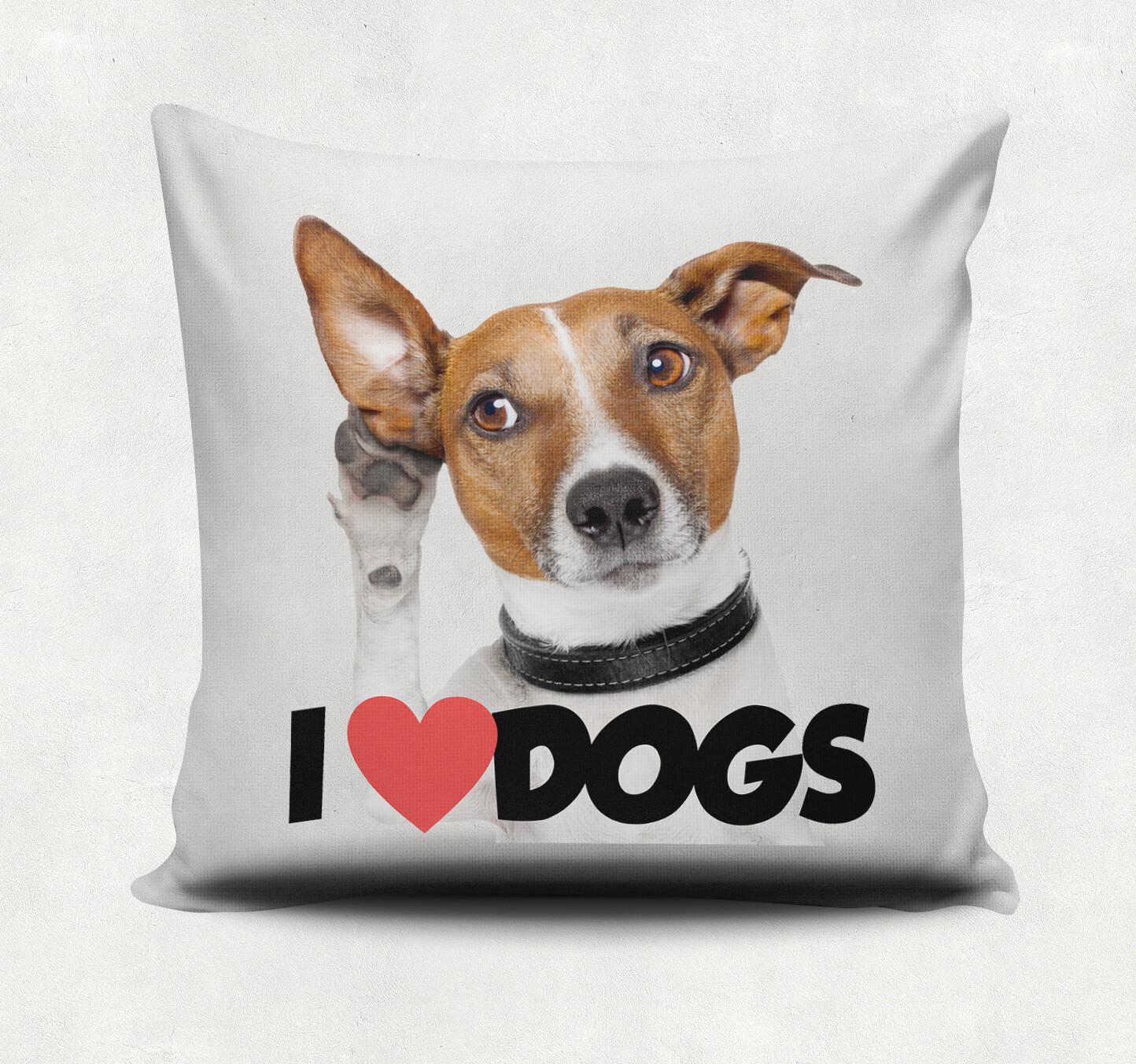 Almofada I Love Dogs