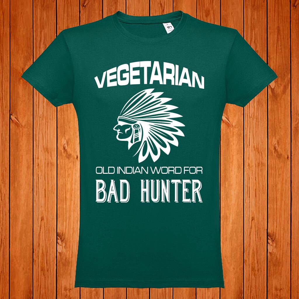 "T-Shirt ""Vegetarian"""