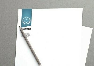 Papier Entête A4 - 90gr