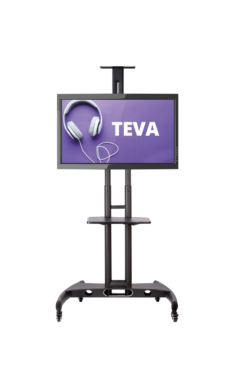 "​Support-écran mobile télescopique Teva 37"" à 65"""