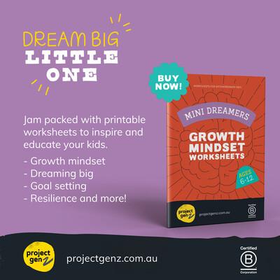 Mini Dreamers Growth mindset bundle Yrs 2-6