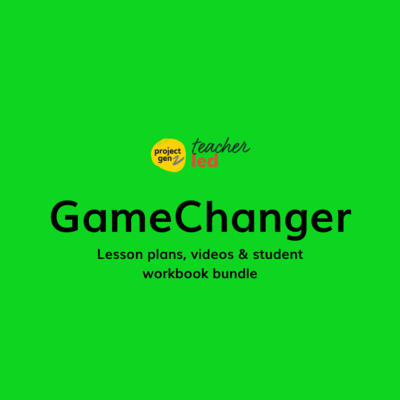 Game Changers bundle Yrs 7-12