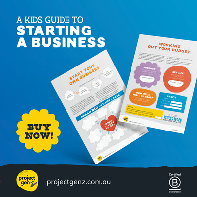 Launchpad- A kids guide to starting a business. Yrs 2-6