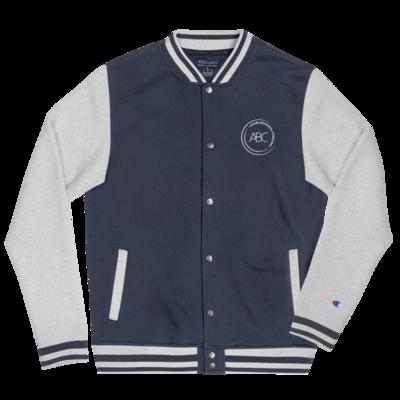 ABC Embroidered Champion Bomber Jacket
