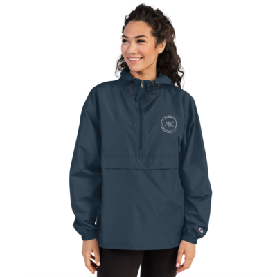 ABC Embroidered Champion Packable Jacket