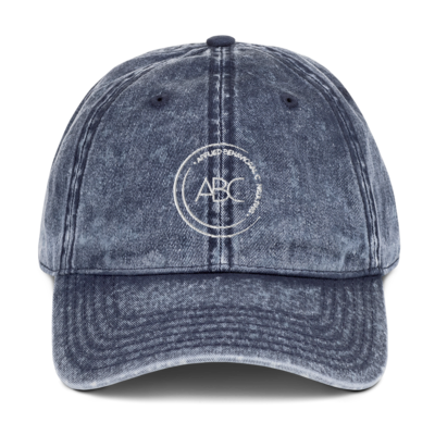 ABC Vintage Cotton Twill Cap