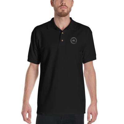 ABC Embroidered Polo Shirt