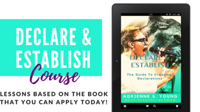 Declare & Establish Course with Book and Journal!