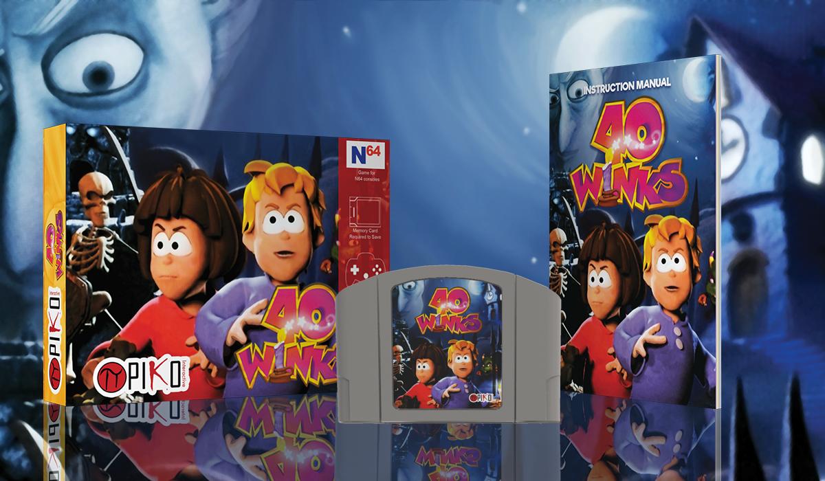 40 Winks - Nintendo 64 - Kickstarter 1298921273