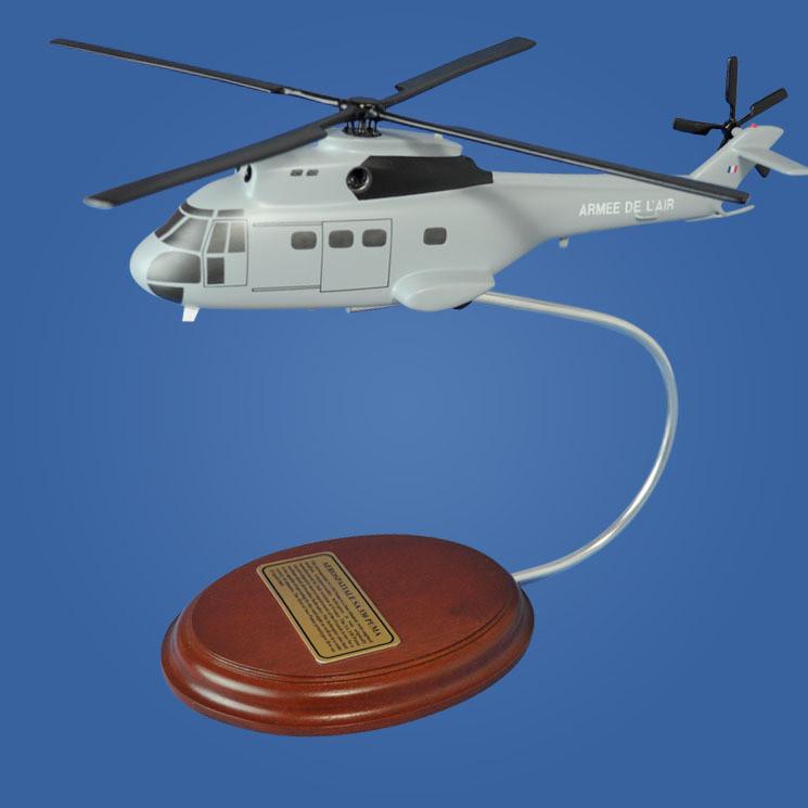 Aerospatiale SA 330 Puma Desktop Model Helicopter
