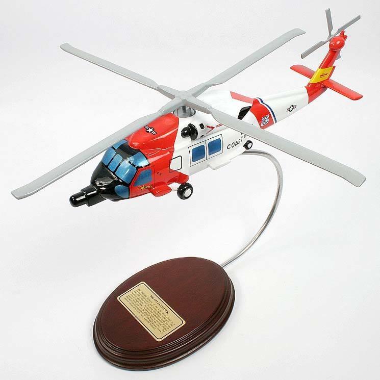 HH-60J Jayhawk Desktop Wood Model Helicopter