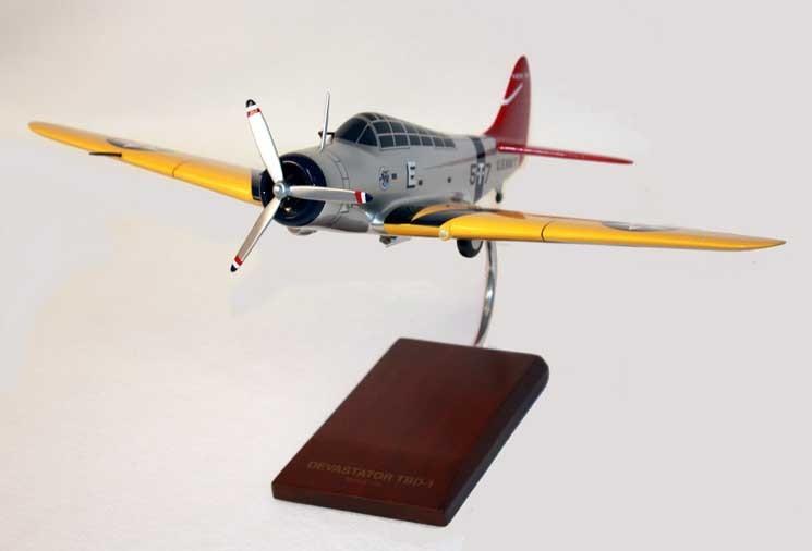 TBD-1 Devastator Model Airplane