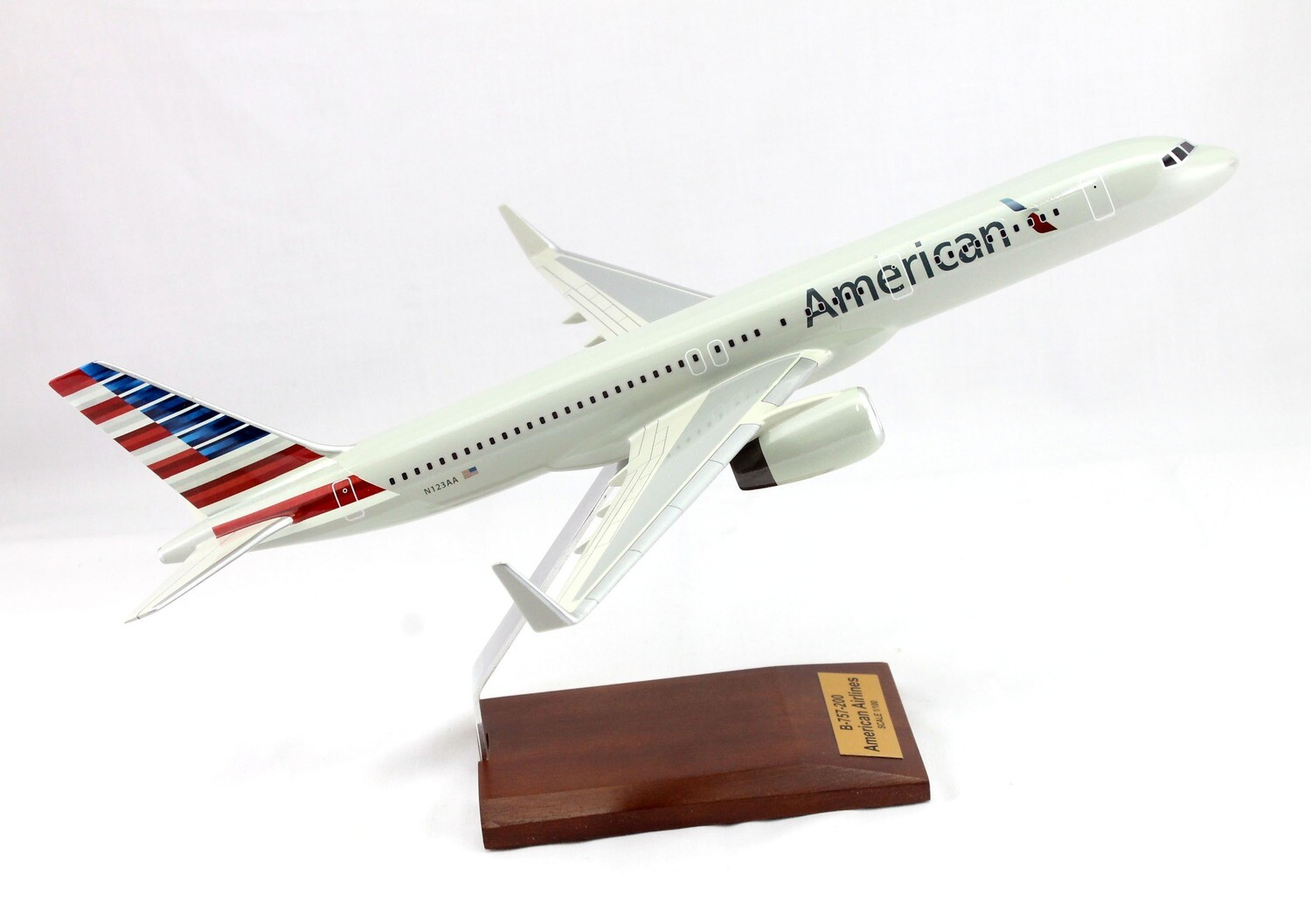 Mastercraft Collection B-757 American Airlines markings Wood Model