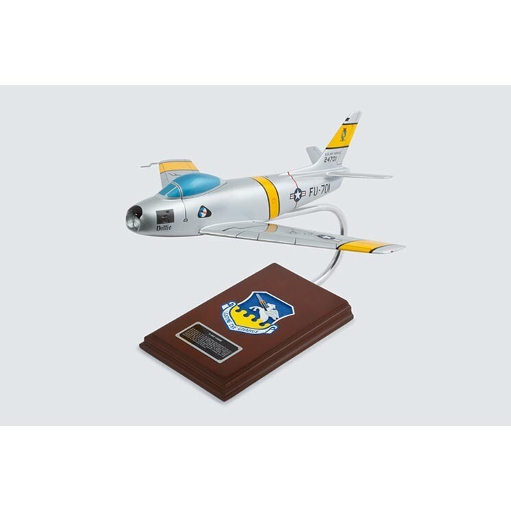 F-86F Sabre Model Airplane