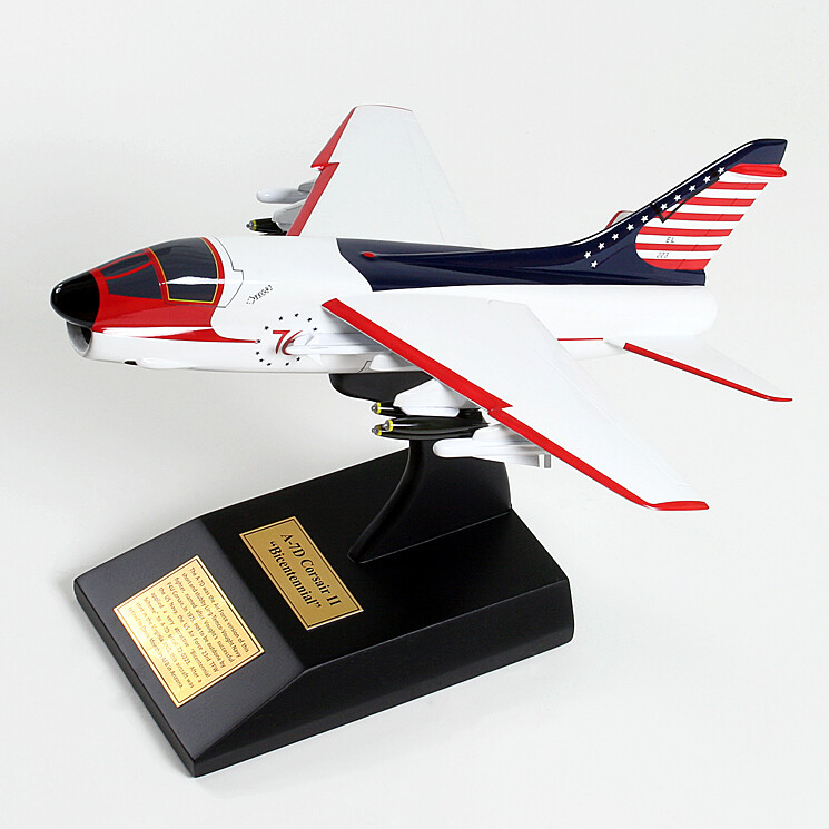 A-7D Corsair II (Bicentennial) Display Model Aircraft