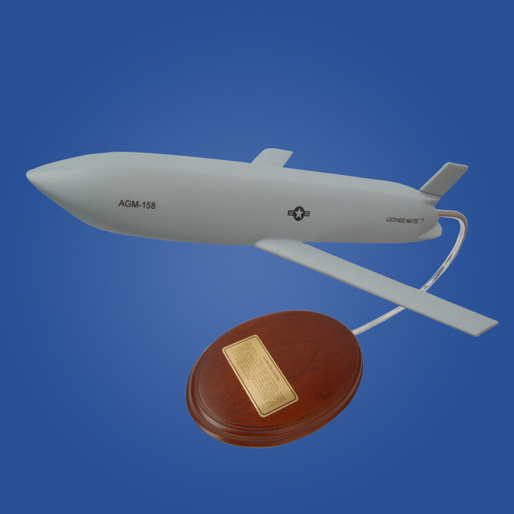 AGM-158 JASSM 1/15 Missile Scale Model