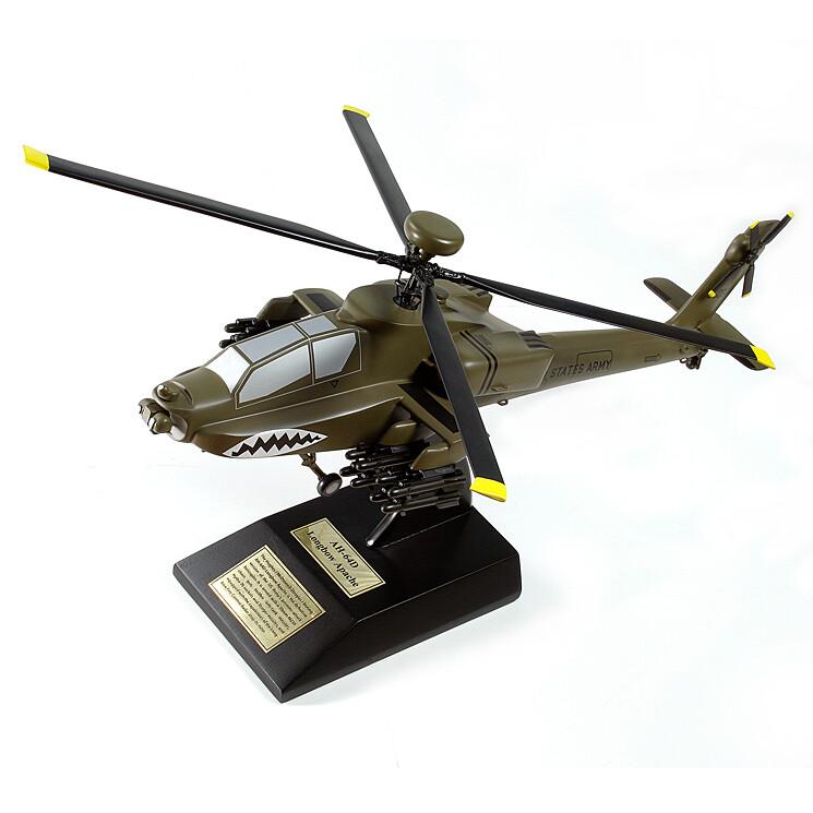 AH-64D Longbow Apache Display Model Aircraft