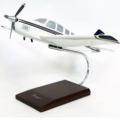 Beechcraft A-36 Bonanza 1/24 Airplane Model
