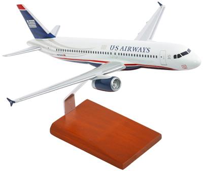 A320-200 US Airways Model Airplane