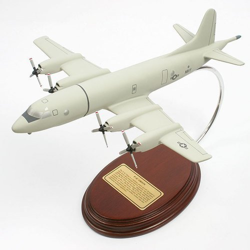 P-3C Orion Wood Model Aircraft