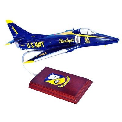 A-4 Skyhawk Blue Angels Model Airplane