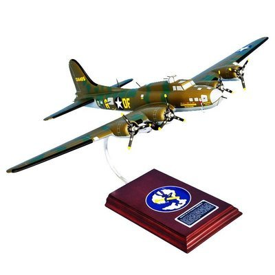 B-17F Flying Fortress (Memphis Belle) 1/54 Wood Model Aircraft