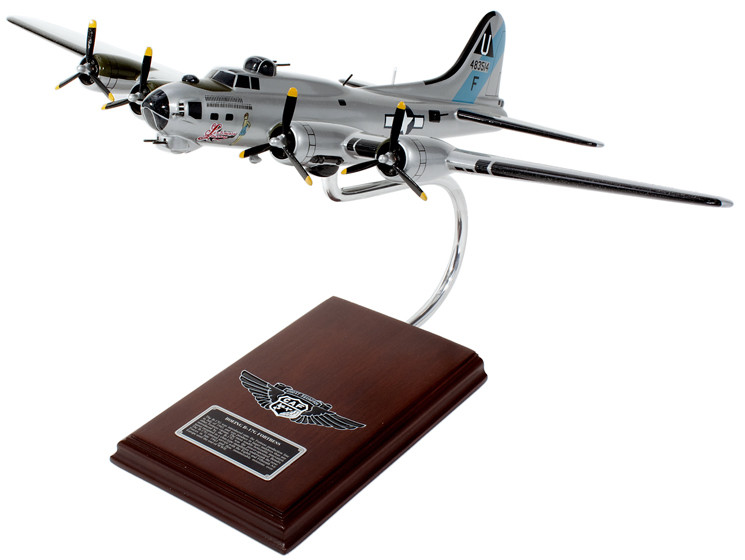 B-17G Flying Fortress (Sentimental Journey) 1/62 Scale Model Aircraft
