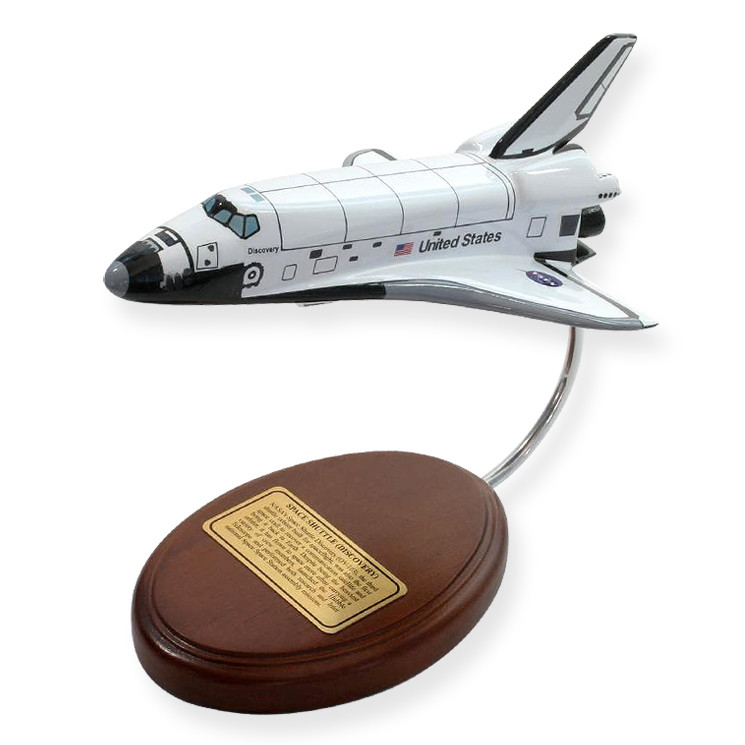 Space Shuttle Discovery (Orbiter Only) 1/200 Spacecraft Scale Model (Small)