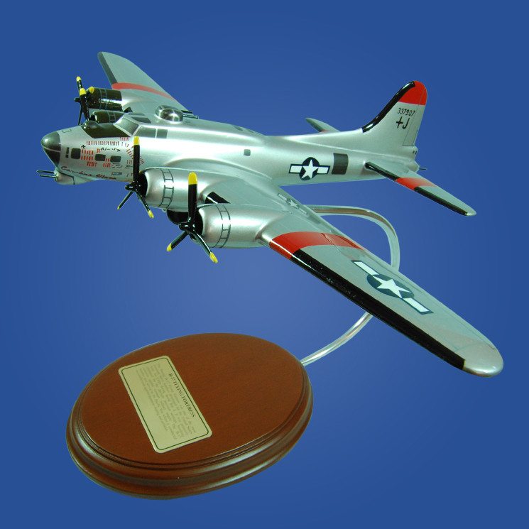 B-17 Flying Fortress 'Carolina Moon' Desktop Model Aircraft