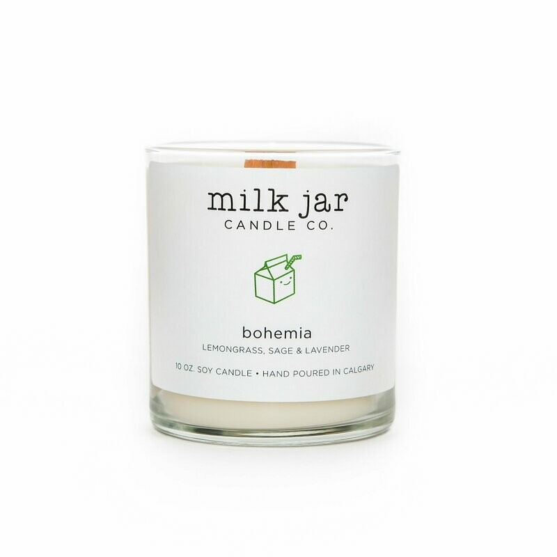 Milk Jar Candle