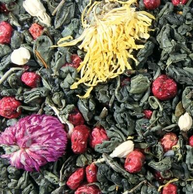 7634D Чай зеленый ароматизированный
