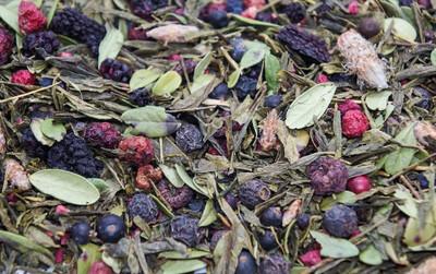 7724D Чай зеленый ароматизированный