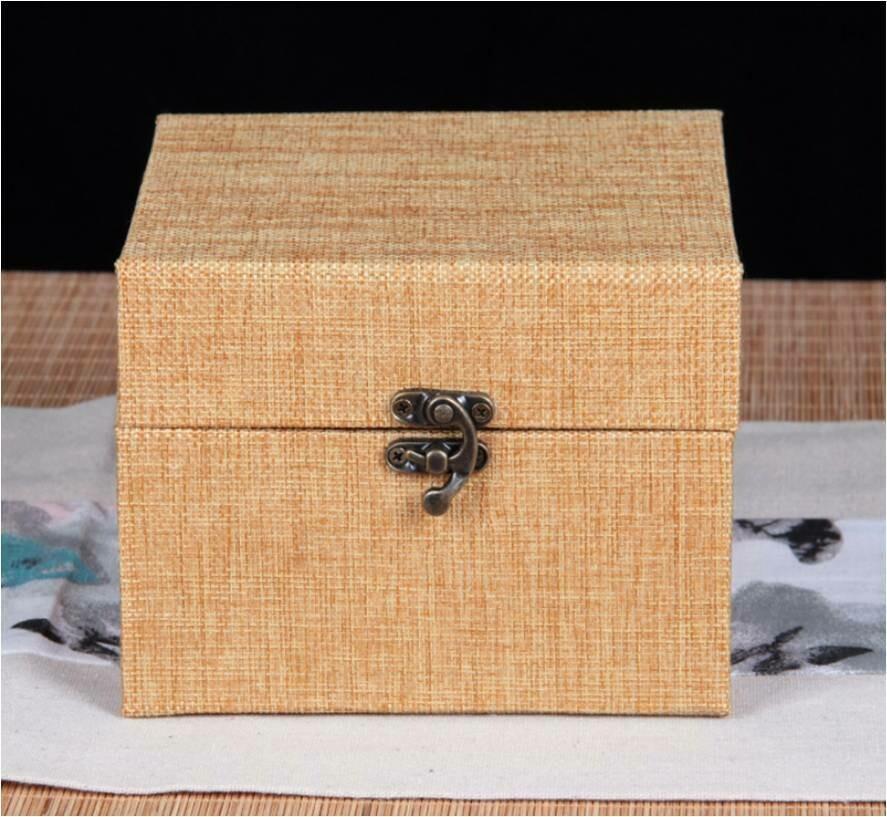 """292004.2 Коробка подар. """"Для чайника"""" h=15.5см, размер=15,5*12,5см, картон/ткань персиковый"""