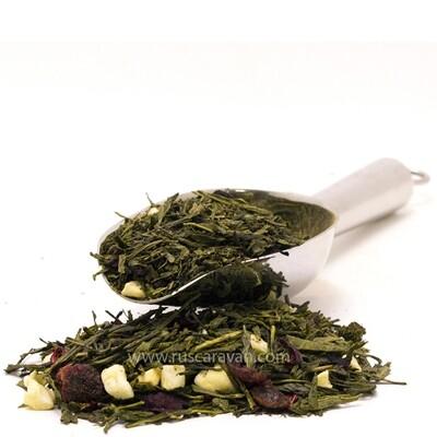 7629D Чай зеленый ароматизированный