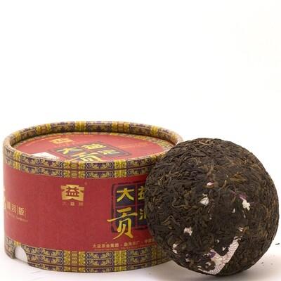 0493к Чай прессованный черный