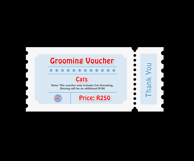Cat - Grooming Voucher