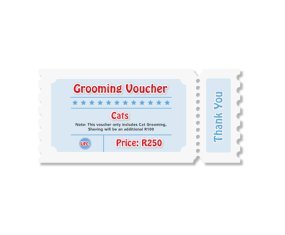 Cat - Grooming Voucher
