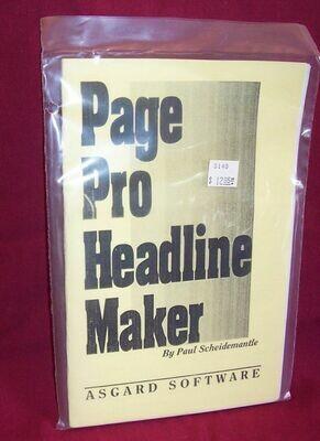 Page Pro Headline Maker